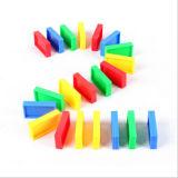 Brinquedo extravagante dos blocos de apartamentos do dominó para a inteligência