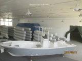 Bateau rouge de Panga de bateau de pêche de bateau de pêche de fibre de verre de Liya 5.8m