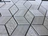 インテリア・デザインのためのベージュひし形の自然な大理石のモザイク