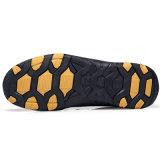 Он-лайн отдых оптовых продаж обувает отдыха отрезока низкого уровня тапки ботинки классицистического кожаный вскользь кожаный