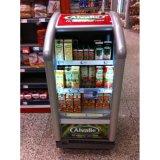 Supermarkt-Luftkühlung-Energie-Getränk-Bildschirmanzeige-Kühlvorrichtung