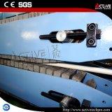 Ligne jumelle conique d'extrusion de pipe de PVC de profil de PVC de vis