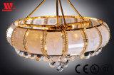 芸術のガラス装飾Sx-38005が付いている天井ランプ