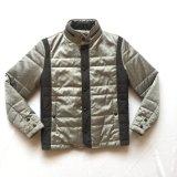 Nuevo estilo de moda los colores de contraste personalizada hombres chaquetas de invierno