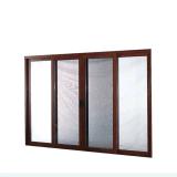 96 X 80 Aluminio puerta corrediza de vidrio con2047/ISO/Ce