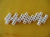 Parti di ceramica personalizzate della steatite con i fori