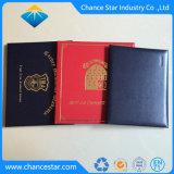 Het Diploma van de douane en de Omslag van het Certificaat, de Omslag van het Certificaat van de Pu- Graad