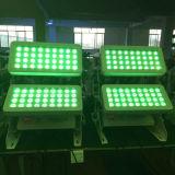 luz al aire libre de la arandela de la pared de 72X10W LED