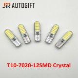 Auto-Anreden Kristall-Auto-des seitlichen Keil-Lichtes der LED-Birnen-12SMD 7020 W5w 194