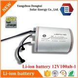 Paquet 12V 100ah de batterie Li-ion du côté 18650 d'UPS Powe