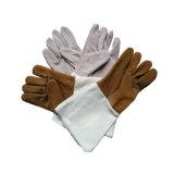 Lederner Schweißens-Handarbeits-Handschuh