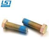 Preiswerte DIN933 DIN931 StandardHex Kopf-Stahlschraube der Qualitäts-