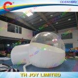 шатры пузыря 5m/6m длинние раздувные, Semi прозрачный шатер, гигантский напольный сь шатер купола
