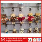 Modèle neuf de jouet de trousseau de clés d'ours de nounours