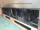 Вертикальные стеклянные двери замороженные продукты дисплей морозильной камере в супермаркет