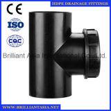 Y schreiben HDPE Druckdose-Entwässerung die passende HDPE Entwässerung, die y-Typen die Entwässerung befestigt, die Fot passende HDPE Befestigungen PET Schieflaufen-Badezimmer-Entwässerung-Befestigung verringert