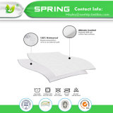 Equipado de lujo superking impermeable transpirable Anti-Bacterial Pulido Cubierta de protector de colchón China