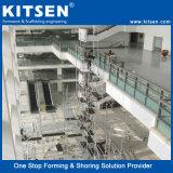 De geperforeerde Steiger van het Aluminium van het Systeem van het Slot van de Ring van de Rozet voor Verkoop