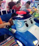 Voiture électrique de jouets en plastique de moulage par rotation des feux de la promotion (SS-7)