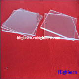 Hitzebeständigkeit-Raum-dünnes fixierter Quarz-Glas-Stück
