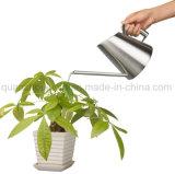 Bidon d'arrosage chaud de jardin d'acier inoxydable de vente d'OEM