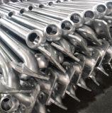 Горячий окунутый гальванизированный стальной пронзительный поручень