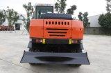 Carregador da roda com as máquinas escavadoras do equipamento de construção da máquina escavadora para a venda