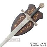 Re Arthur Swords con piastra 116cm Jot049c
