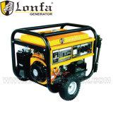 5kw générateur à essence avec poignée et roues pour une utilisation domestique