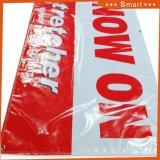 グロメットが付いているカスタムロゴの印刷PVCビニールの旗を広告するCheapoutdoor