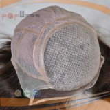 Encaje tipo Humanbrazilian completo peluca peluca de cabello virgen (PPG-L-01769)