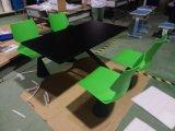 4 Restaurante mesa e cadeira do Assento