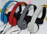 Fone de ouvido com fone de ouvido portátil Jack 3,5 mm com cabo
