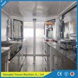 Alimento móvil de aluminio Van del acoplado del alimento de Ys-Fw400A