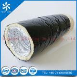 Conducto flexible de la capa del PVC del aislante externo de la fibra de vidrio