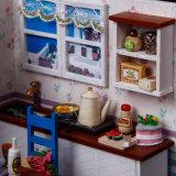 教育の最新の普及した木の人形の家