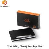 Boîte à cartes de nom d'entreprise en métal de qualité, cadre de support
