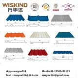 Катушки покрынные цветом гальванизированные структура крыши цинка 100g стальная