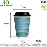Papiercup des heißen Wegwerfkaffee-9oz mit dem kundenspezifischen Verpacken