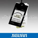 O papelão Hang Tags a etiqueta de travamento de plástico