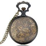 高品質の完全な金属の錬金術師の鈍いポーランドの壊中時計