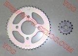 Bajajのためのオートバイの部品のスプロケットセットはまたはPulsar/Bm100/Bm150検出する