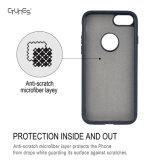 iPhone8のための磁気車の台紙の版の保護カバーのケース構築で柔らかいPUの革細い適合