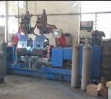 LPG 실린더 두 배 헤드 자동적인 완곡한 용접 기계