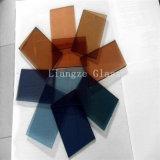 훈장 또는 건물을%s 유리제 8mm 대양 파란 색을 칠한 Glass&Color Glass&Painted