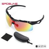 Il baseball di riciclaggio degli occhiali di protezione di sport di vetro di nuovo modo mette in mostra gli occhiali da sole