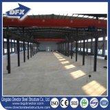 Almacén ligero prefabricado de la estructura de acero con la grúa de 10 toneladas