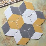 Плитка украшения стены и пола фарфора смешанной 3 формы постоянного посетителя цвета 200X230X115mm шестиугольная керамическая для персонализированного дома (SM2332)