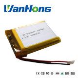 batterie 104050pl2300mAh rechargeable pour le pouvoir Bank/POS