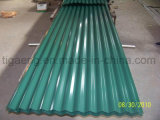 HdgiのSGCC+Zによって波形を付けられる鋼鉄屋根ふき版か屋根ふき